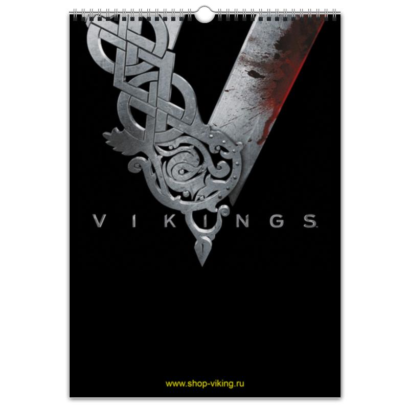 Перекидной Календарь А3 Printio Vikings салль о м в ожидании нового года адвент календарь а3