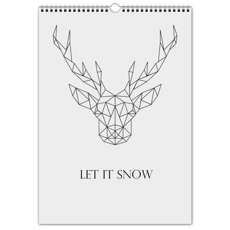 Перекидной Календарь А3 Printio Dear deer салль о м в ожидании нового года адвент календарь а3