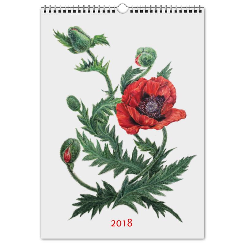 Перекидной Календарь А3 Printio Цветочный мир