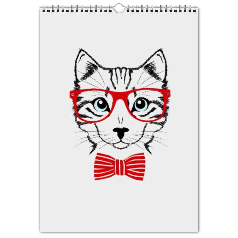 Перекидной Календарь А3 Printio Кошка