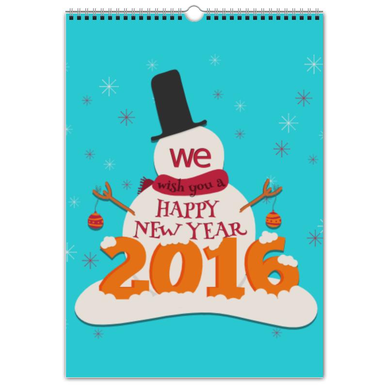 Перекидной Календарь А3 Printio Новый 2016 год!