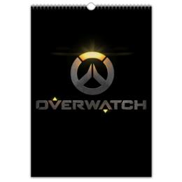 "Перекидной Календарь А3 ""Overwatch"" - overwatch, овервотч, сомбра, overwatch овервотч жнец reaper, овервотч overwatch солдат 76 soldier 76"