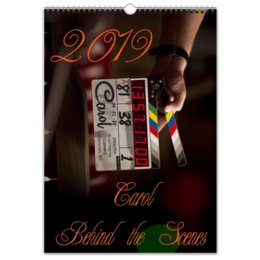 "Перекидной Календарь А3 ""Carol BST"" - carol, cateblanchett, кейтбланшетт, rooneymara"