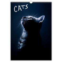 """Перекидной Календарь А3 """"Коты (Cats)"""" - кот, котики"""