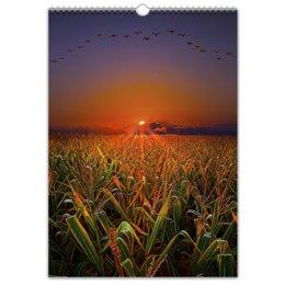 """Перекидной Календарь А3 """"КАК ПРЕКРАСЕН ЭТОТ МИР"""" - стиль, красота, природа, яркость, пейзаж"""