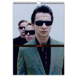 "Перекидной Календарь А3 ""Depeche Mode"" - depeche mode, депеш мод"