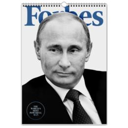 """Перекидной Календарь А3 """"Putin the best"""" - russia, путин, putin, календарь, kkaravaev"""