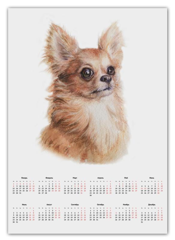 Календарь А2 Printio Собачка чи