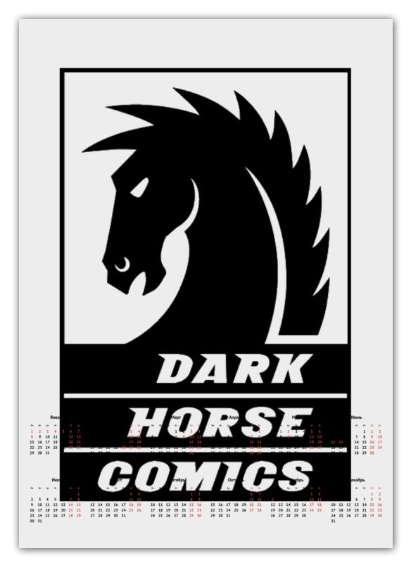 Календарь А2 Printio Dark horse comics цена и фото