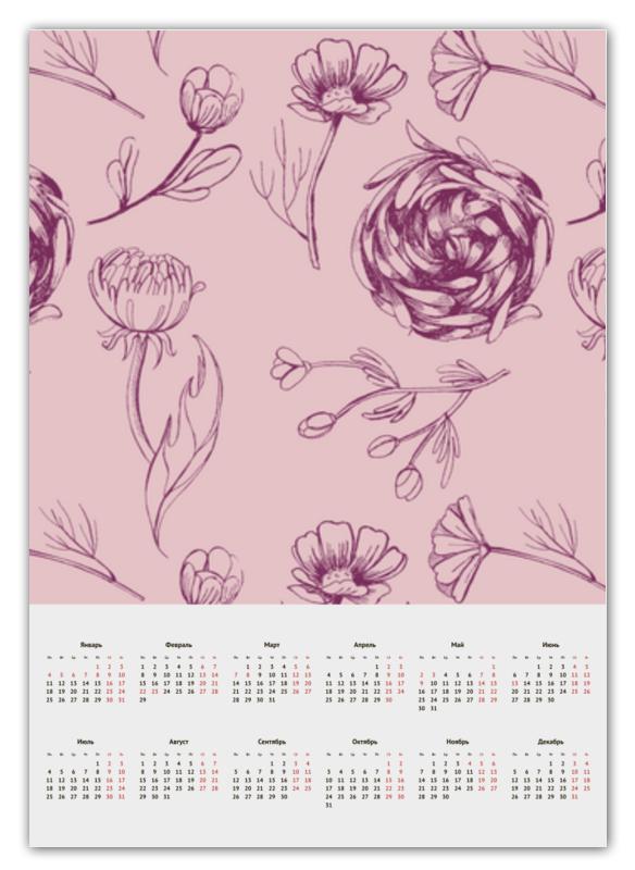 Календарь А2 Printio Осенний сад кружка осенний сад r2s611 seas al