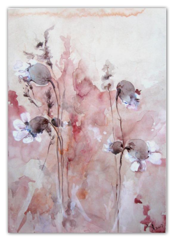 Календарь А2 Printio Осенние цветы жиглов в и цветы календарь 2019