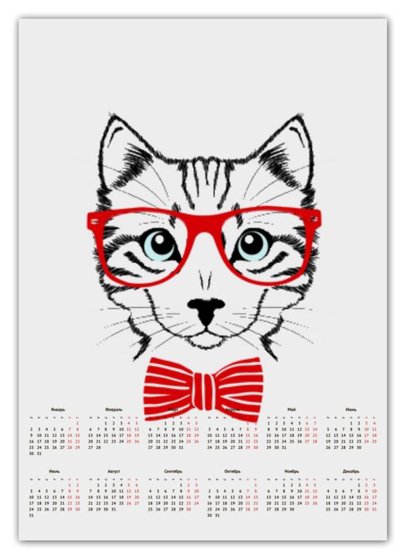 Printio Кошка календарь животных по годам
