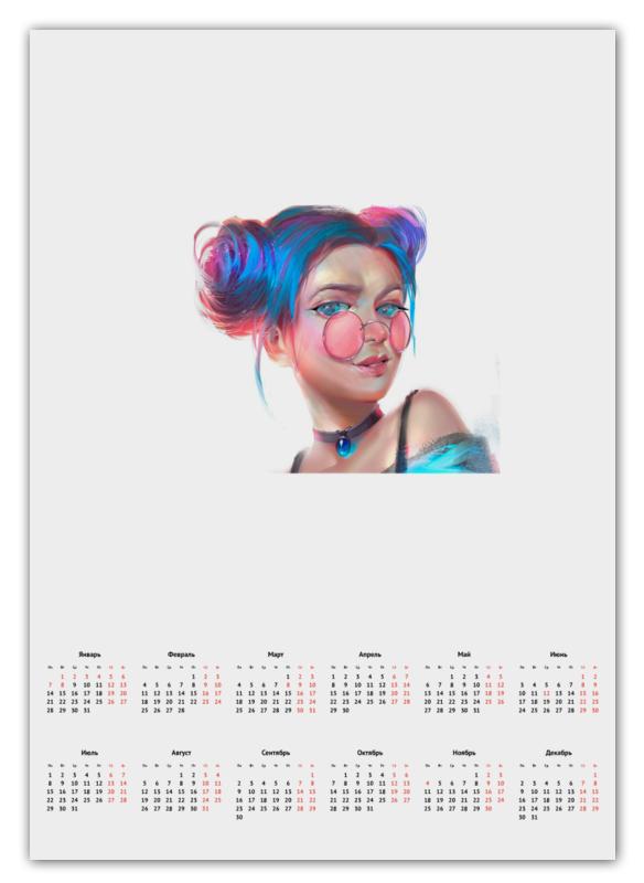 Календарь А2 Printio Календарь