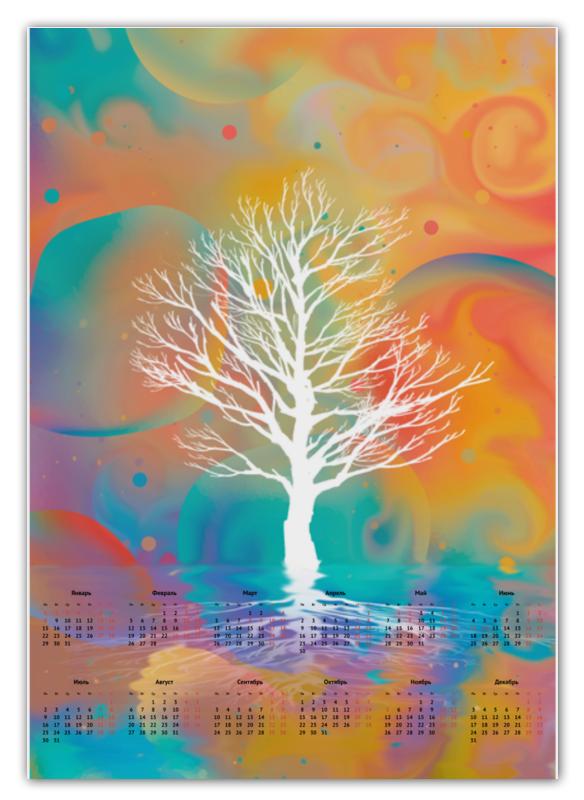 Printio Белое дерево календарь а2 printio bass guitar