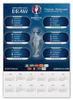 """Календарь А2 """"евро-2016"""""""