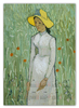 "Календарь А2 ""Девушка в белом (Винсент Ван Гог)"" - картина, природа, ван гог, живопись, постимпрессионизм"