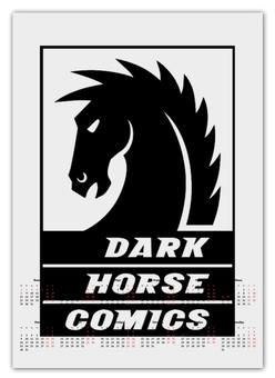 """Календарь А2 """"Dark Horse Comics"""" - комиксы, dark horse comics, тёмная лошадка"""
