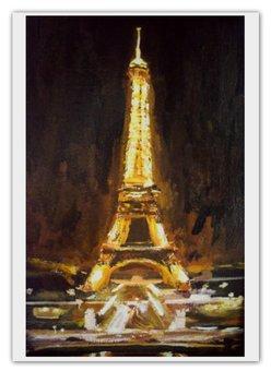 "Календарь А2 ""Париж"" - шоколад, париж, paris, эйфелева башня"