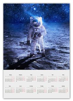 """Календарь А2 """"Покоряя космос"""" - космос, наука, марс, thespaceway, space"""