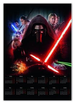 """Календарь А2 """"Star Wars"""" - star wars, звездные войны, дарт вейдер"""