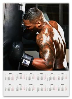"""Календарь А2 """"Календарь 50 Cent"""" - 50 cent, 50cent, фифти"""