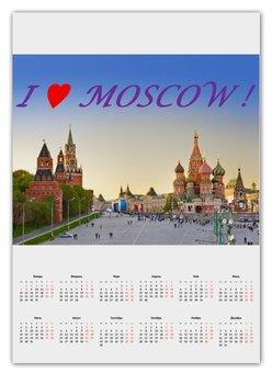 "Календарь А2 ""Moscow Red Square"" - стиль, stile"