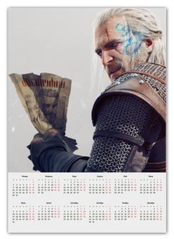 """Календарь А2 """"The Wither"""" - the witcher, каменные сердца, геральт, ведьмак, ольгерд"""