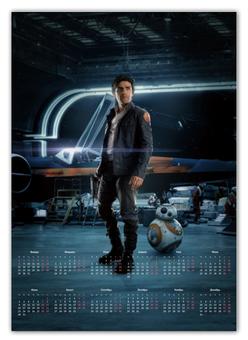 """Календарь А2 """"Звездные войны - По Дамерон"""" - кино, фантастика, star wars, звездные войны, дарт вейдер"""