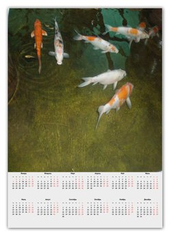 "Календарь А2 ""Календарь рыбки"" - отдых, рыбки, тайланд"