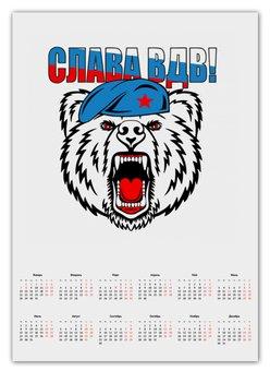 """Календарь А2 """"За ВДВ"""" - арт, стиль, армия, рисунок, россия"""