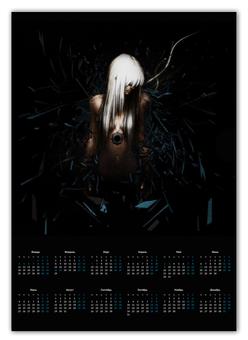 """Календарь А2 """"Аниме арт"""" - арт, девушка, аниме, календарь, осколки"""