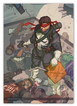 "Календарь А2 ""Punisher"" - comics, комиксы, марвел, punisher, каратель"