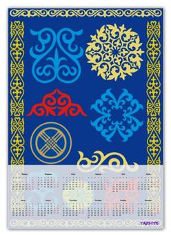 """Календарь А2 """"Календарь - Восточный стиль"""" - арт, восток, восточный, календарь"""