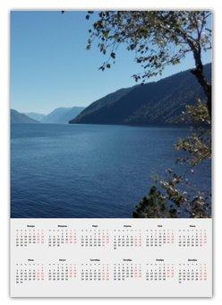 """Календарь А2 """"Удивительный Алтай"""" - лето, summer, горы, mountains, телецкое озеро"""