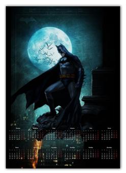 """Календарь А2 """"Batman"""" - комиксы, batman, бэтмен, dc"""