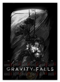 """Календарь А2 """"Gravity falls"""" - gravity falls"""