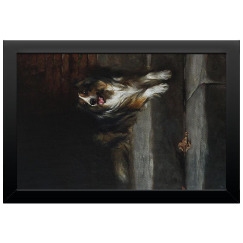 Холст 20х30 Printio 2018 год собаки репродукция ржавый рассвет 500х700мм холст
