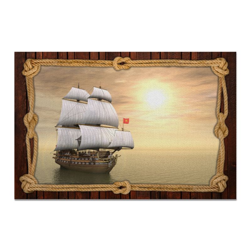 Холст 20х30 Printio Море корабль море чудес море чудес игровой набор корабль призрак