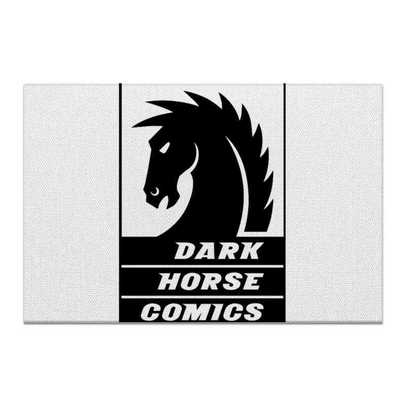 Холст 20х30 Printio Dark horse comics часы круглые из пластика printio dark horse comics
