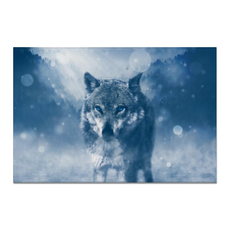 Холст 20х30 Printio Волк с голубыми глазами холст 20х30 printio серый волк