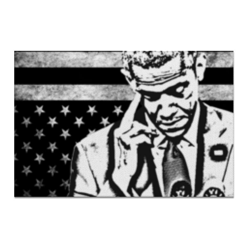 Холст 20х30 Printio F*ck you obama!