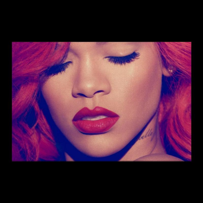 Холст 20х30 Printio Rihanna rihanna rihanna rated r 2 lp