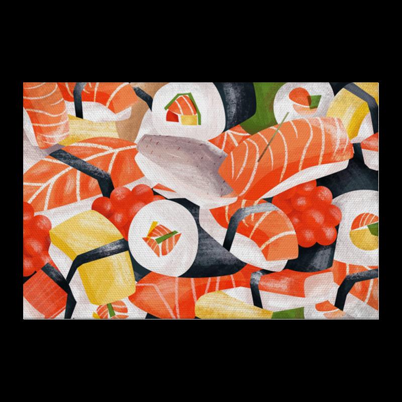 цены на Холст 20х30 Printio Суши роллы в интернет-магазинах