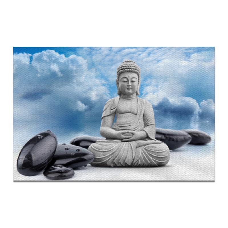 Холст 20х30 Printio Будда ольденбург с будда жизнь деяния и мысли великого учителя