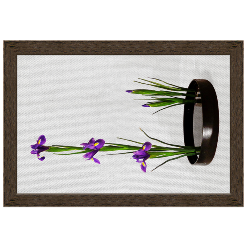 Холст 20х30 Printio Икебана / ikebana свадебная композиция