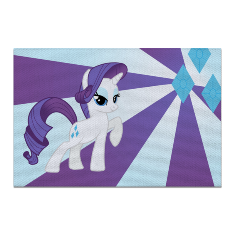 Холст 20х30 Printio Rarity color line чехол для ноутбука 14 printio rarity color line