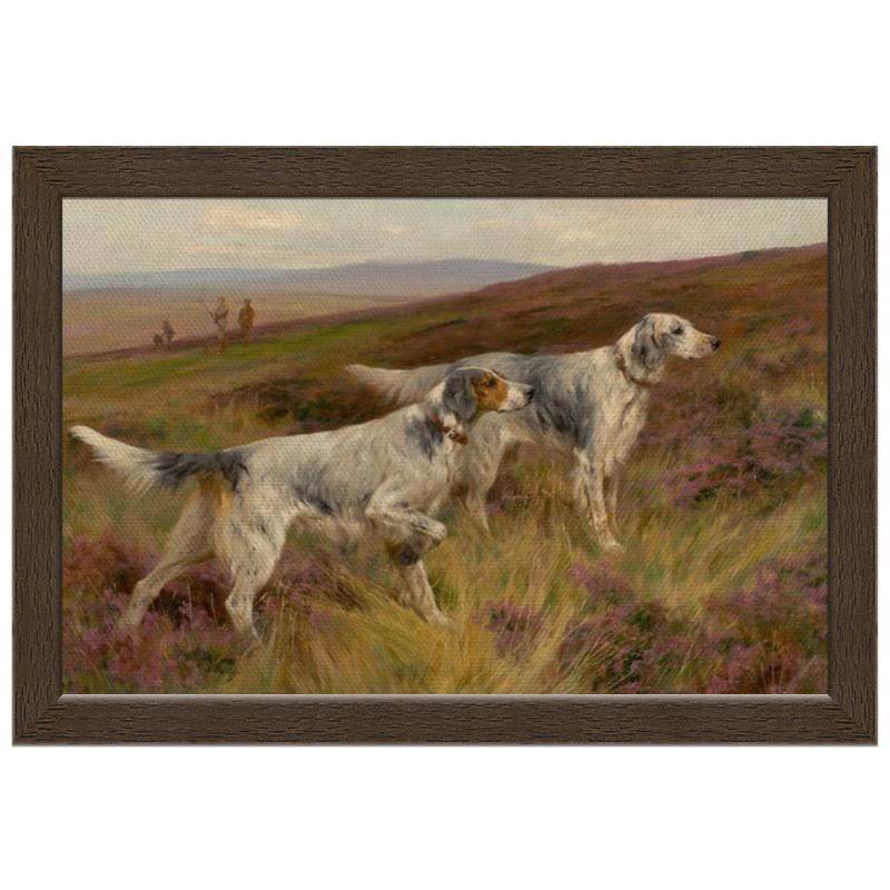 Холст 20х30 Printio Охота с собаками холст 20х30 printio колли картина артура вардля