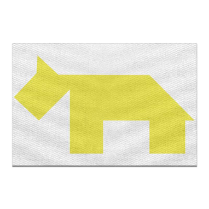 Холст 20х30 Printio Жёлтая собака танграм холст 40x55 printio жёлтая утка танграм
