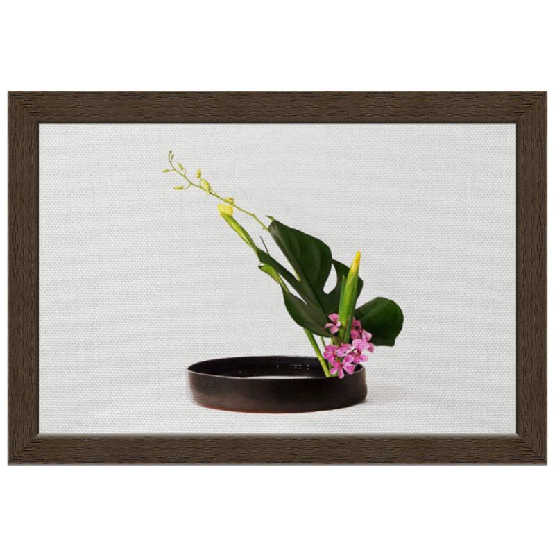 Холст 20х30 Printio Икебана / ikebana холст 30x30 printio икебана ikebana