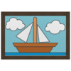 "Холст 20х30 ""Картина кораблика из Симпсонов"" - кораблик, картина, симпсоны, the simpsons, boat"
